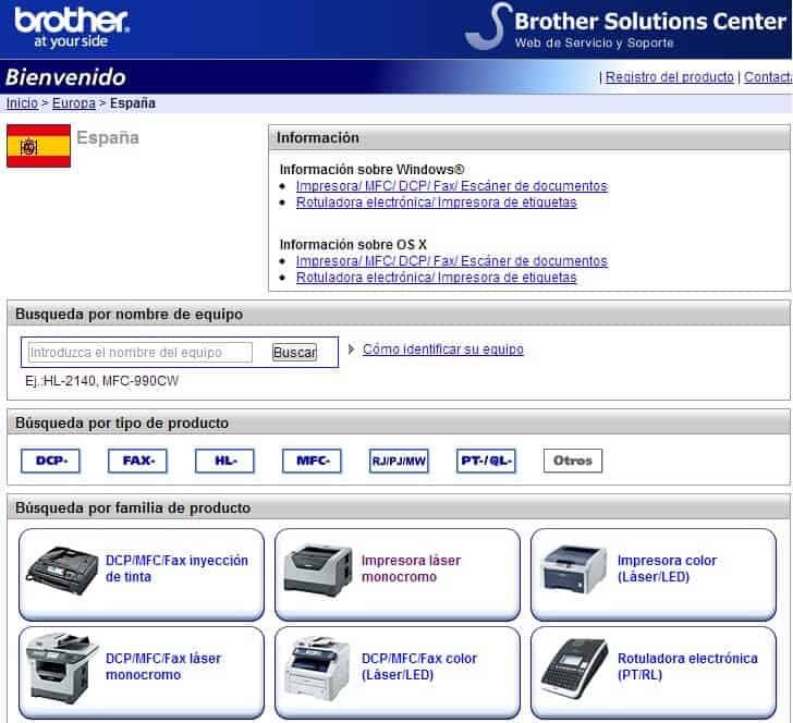 Brother Solutions Center